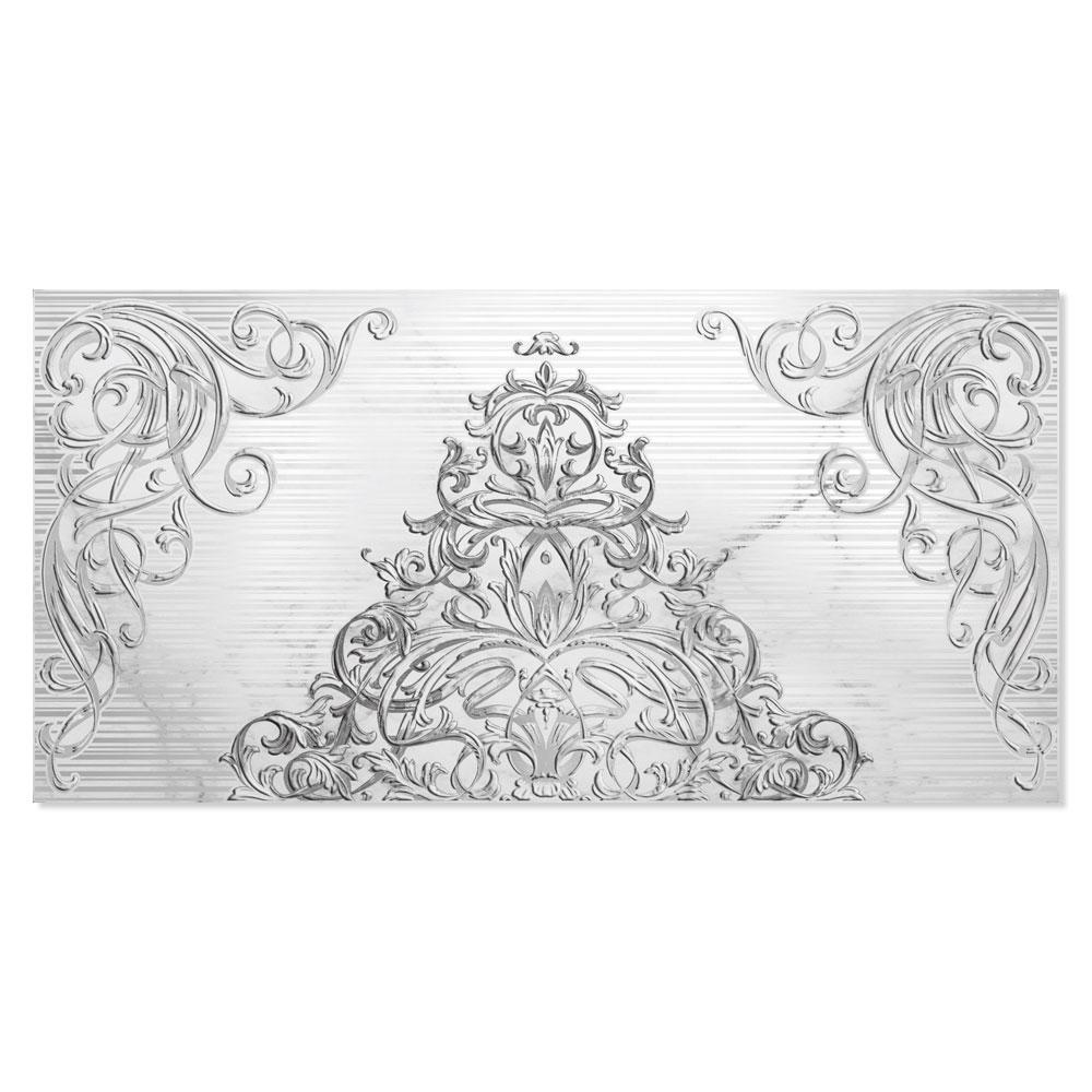 Kakel Amat Ljusgrå 25x50 cm