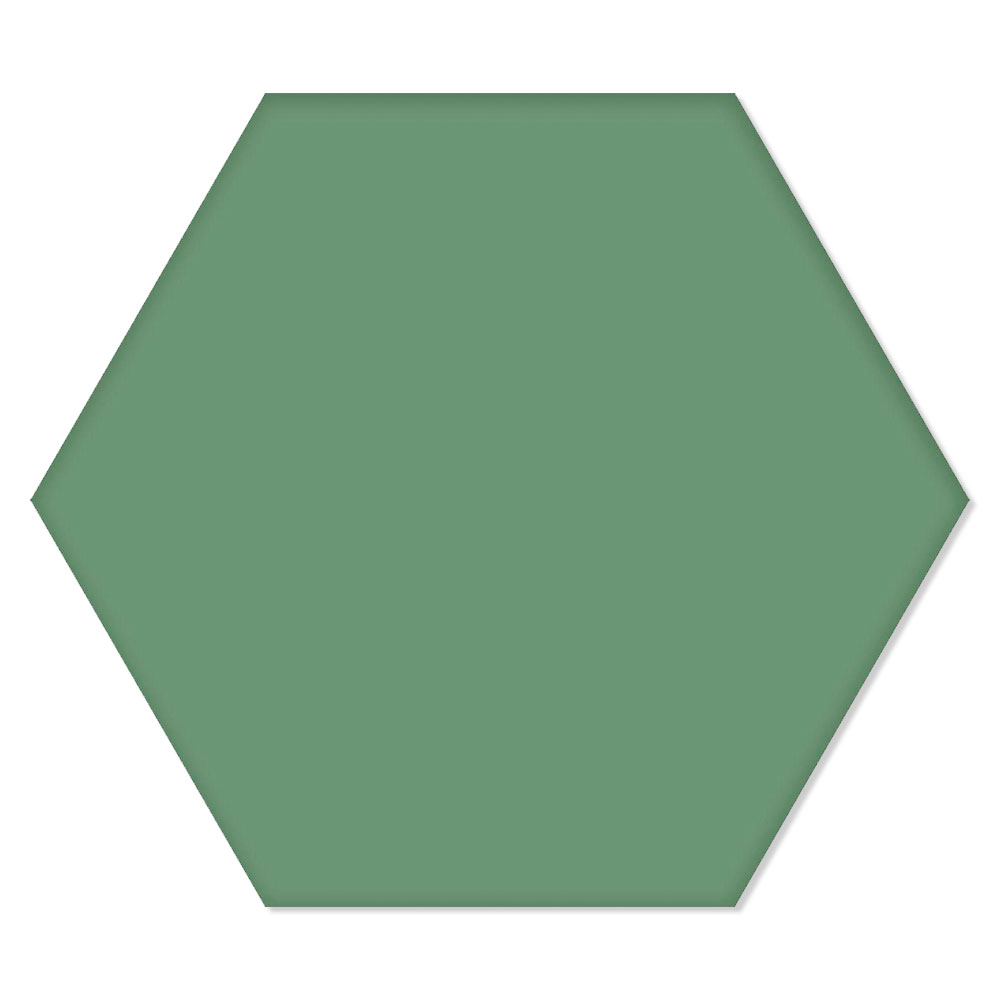 Hexagon Klinker Basic Ljusgrön 25x22 cm
