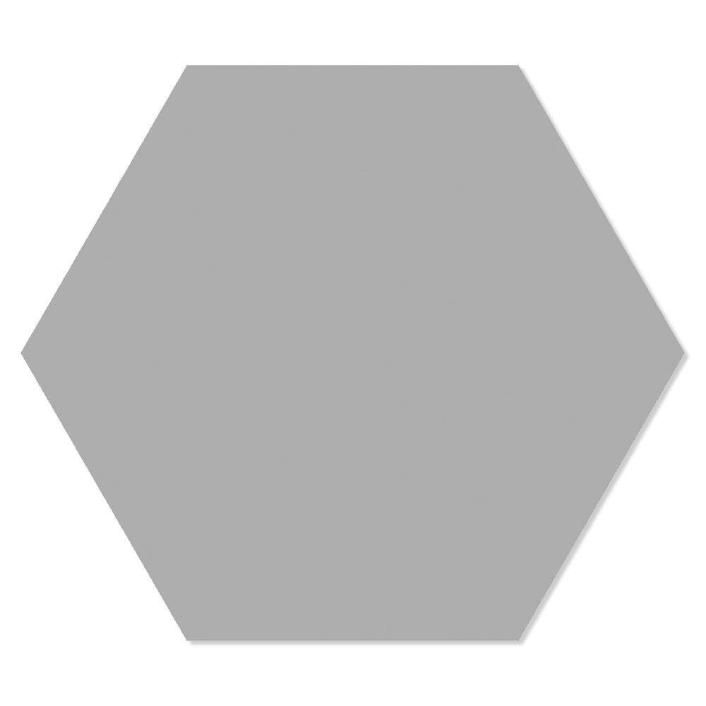 Hexagon Klinker Basic Grå 25x22 cm