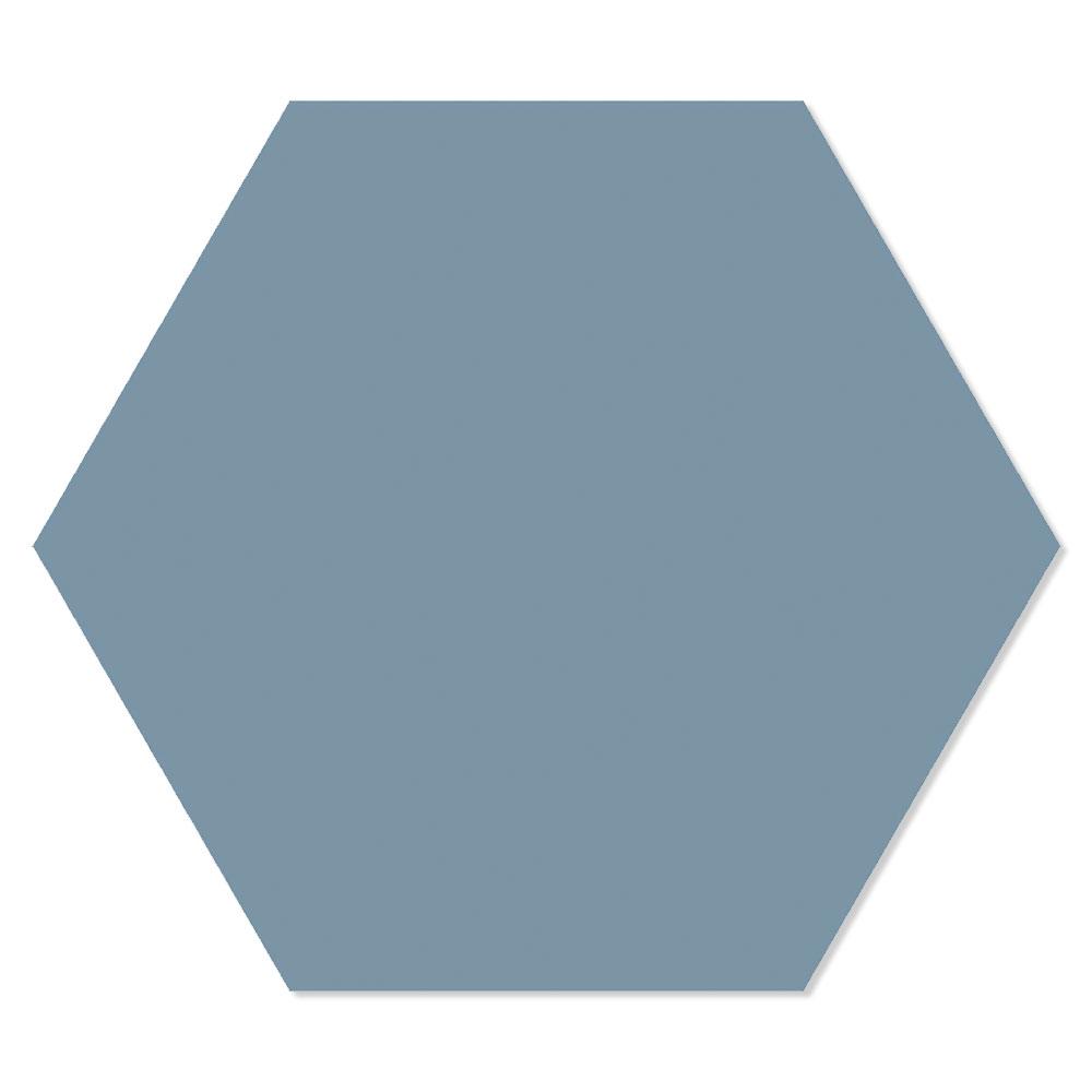 Hexagon Klinker Basic Mörkblå 25x22 cm