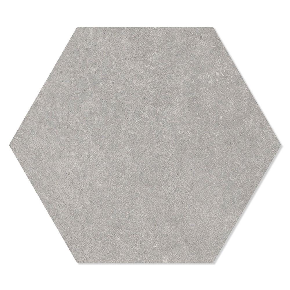 Hexagon Klinker Traffic Hex 25 Grå 25x22 cm
