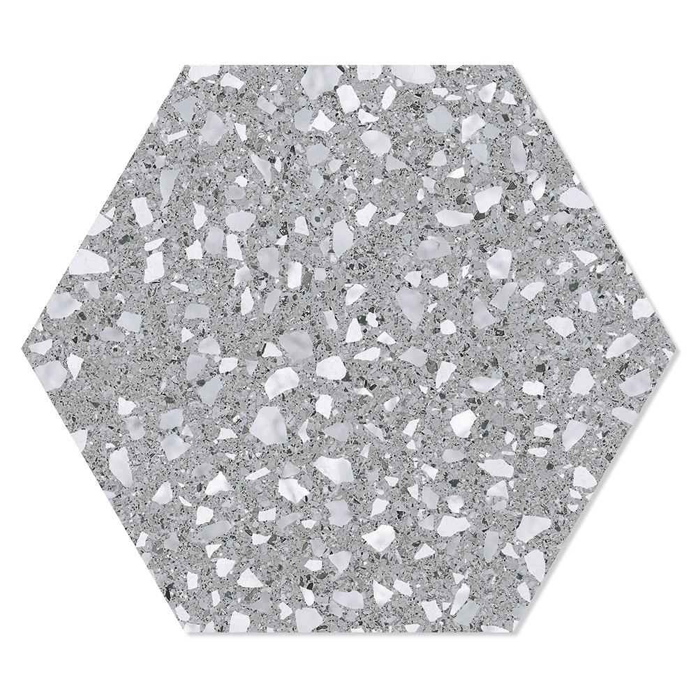 Hexagon Klinker Venice Grå 25x22 cm