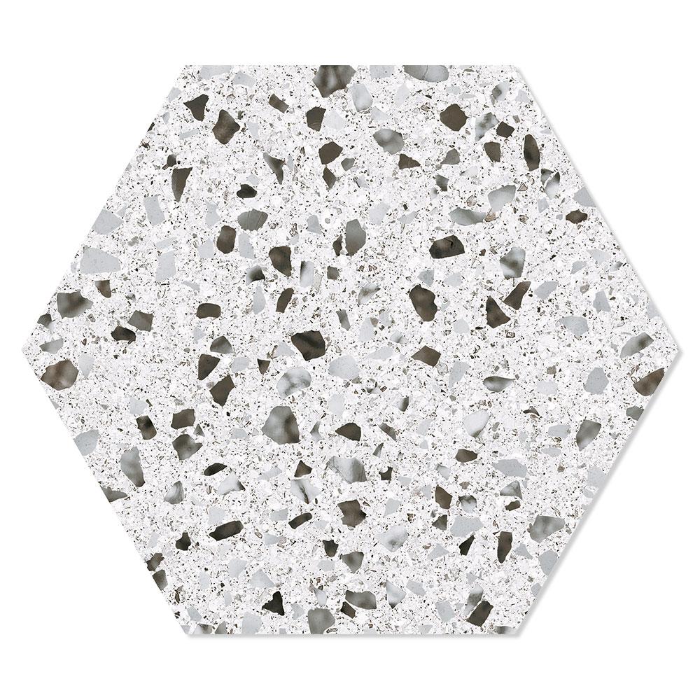 Hexagon Klinker Venice Ljusgrå 25x22 cm