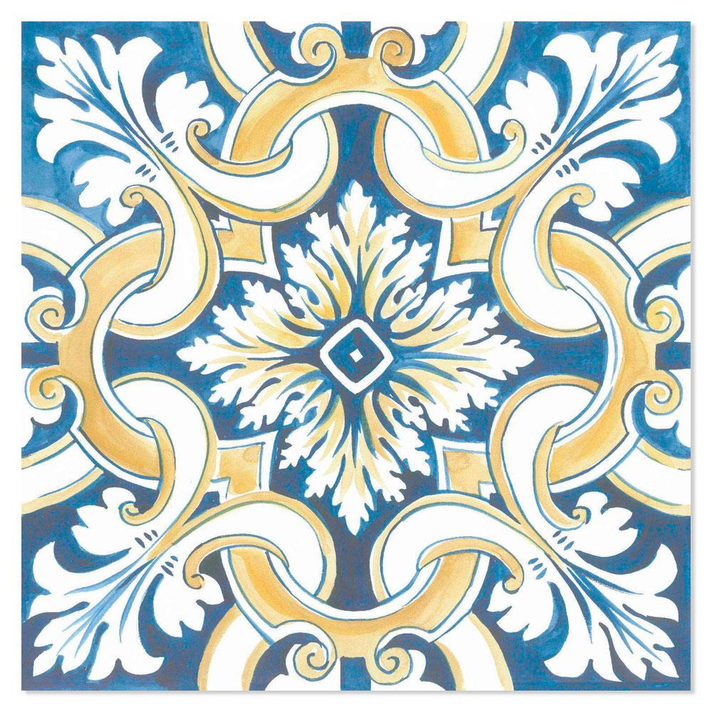 Klinker Lisboa Flerfärgad 25x25 cm