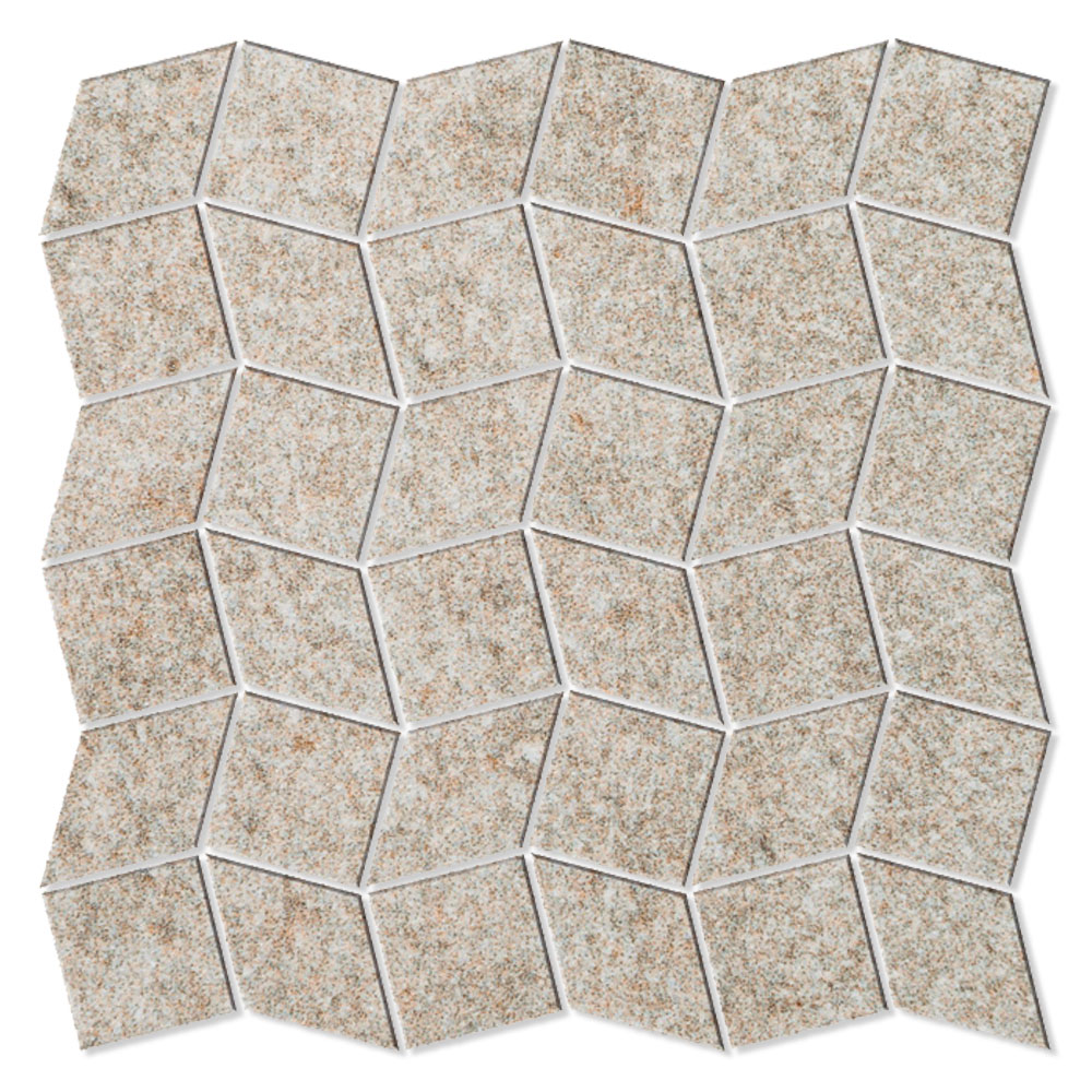 Mosaik Klinker Fidenza Beige Matt Rak 30x30 cm