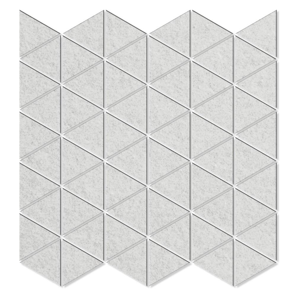 Dekor Klinker Gastrovillari Vit Rak Polerad 30x30 cm