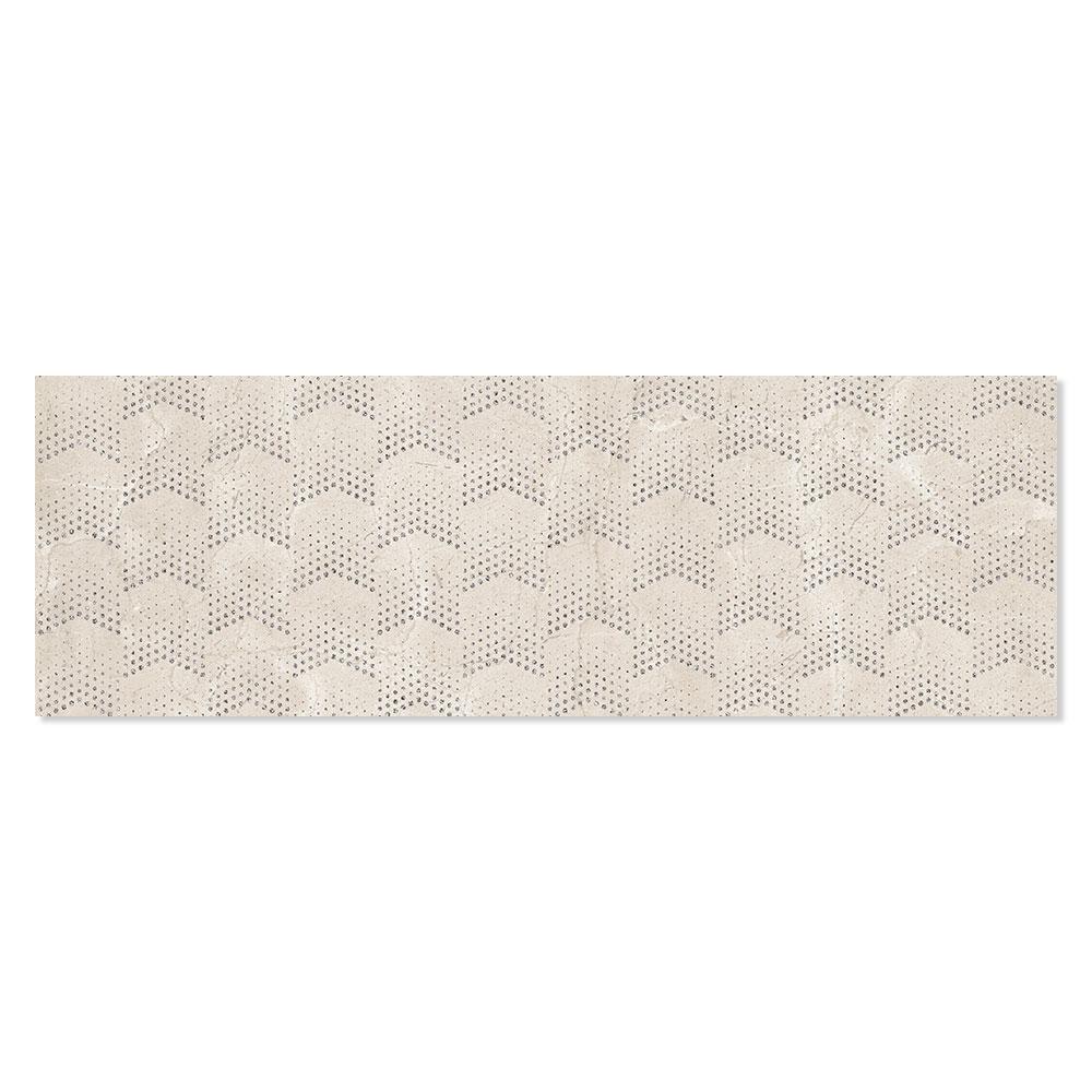 Dekor Kakel Berluzzi Beige Blank 30x90 cm