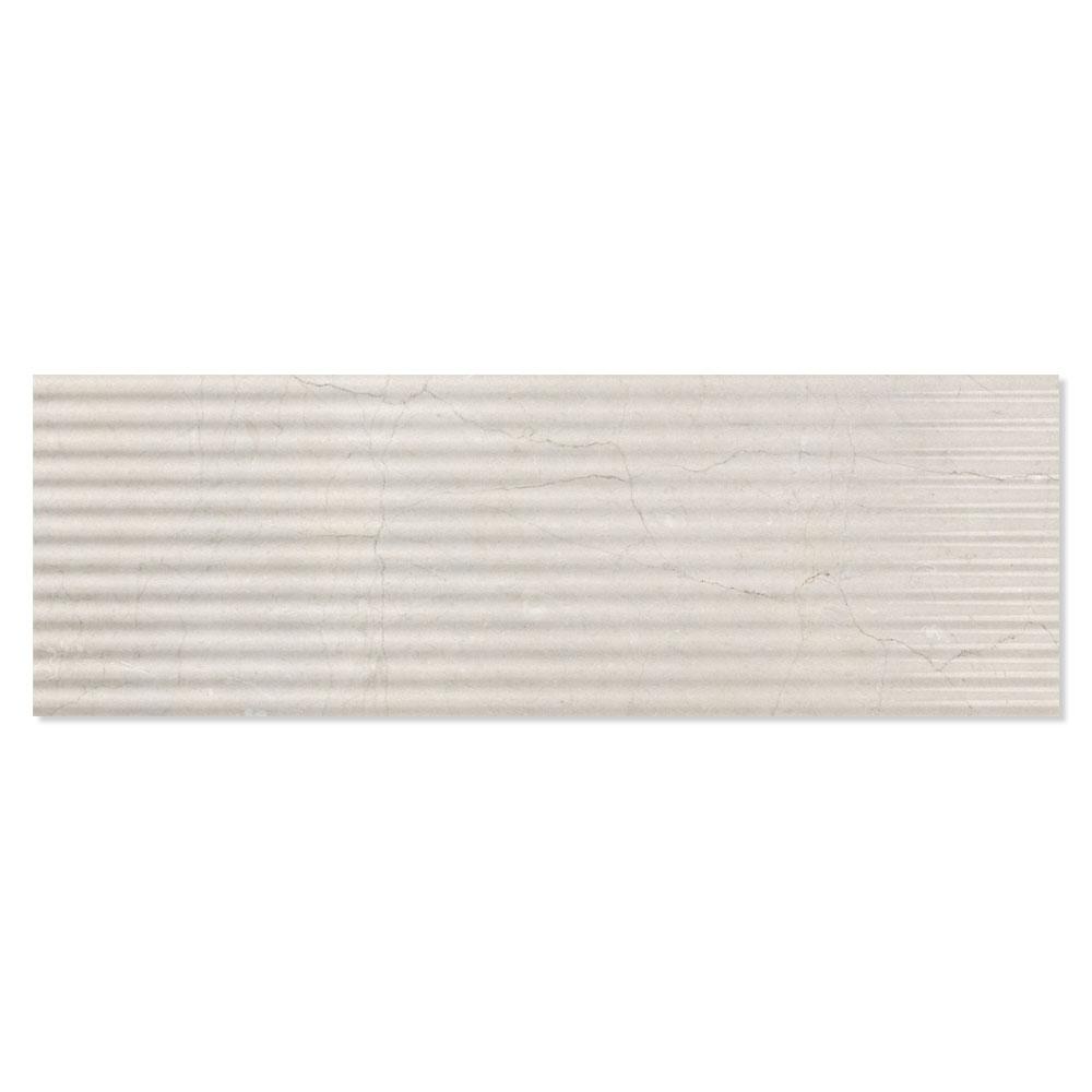 Dekor Kakel Berluzzi Beige Blank-Relief 30x90 cm