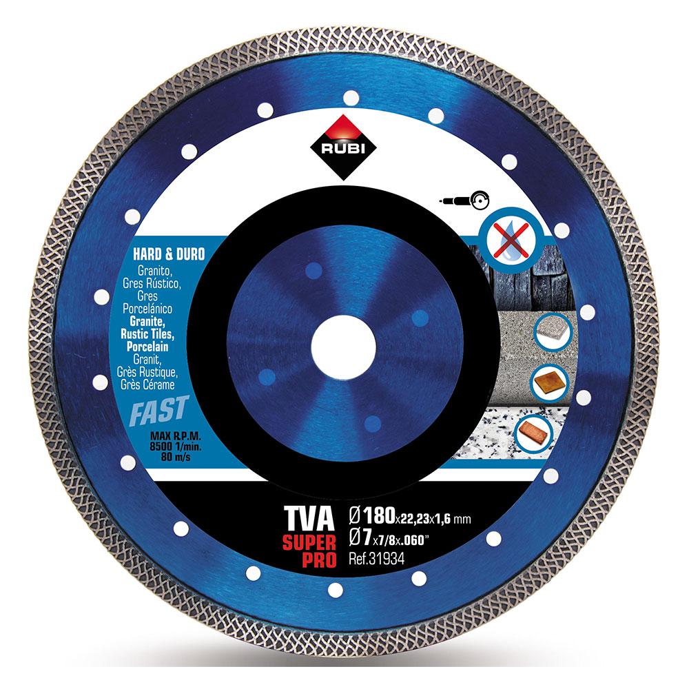 Diamantklinga för hårda material TURBO VIPER TVA-180 SUPERPRO
