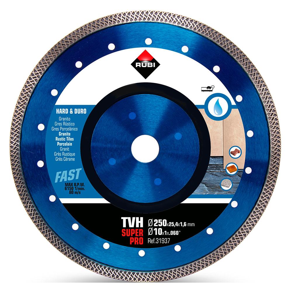 Diamantklinga för hårda material TURBO VIPER TVH-250 SUPERPRO
