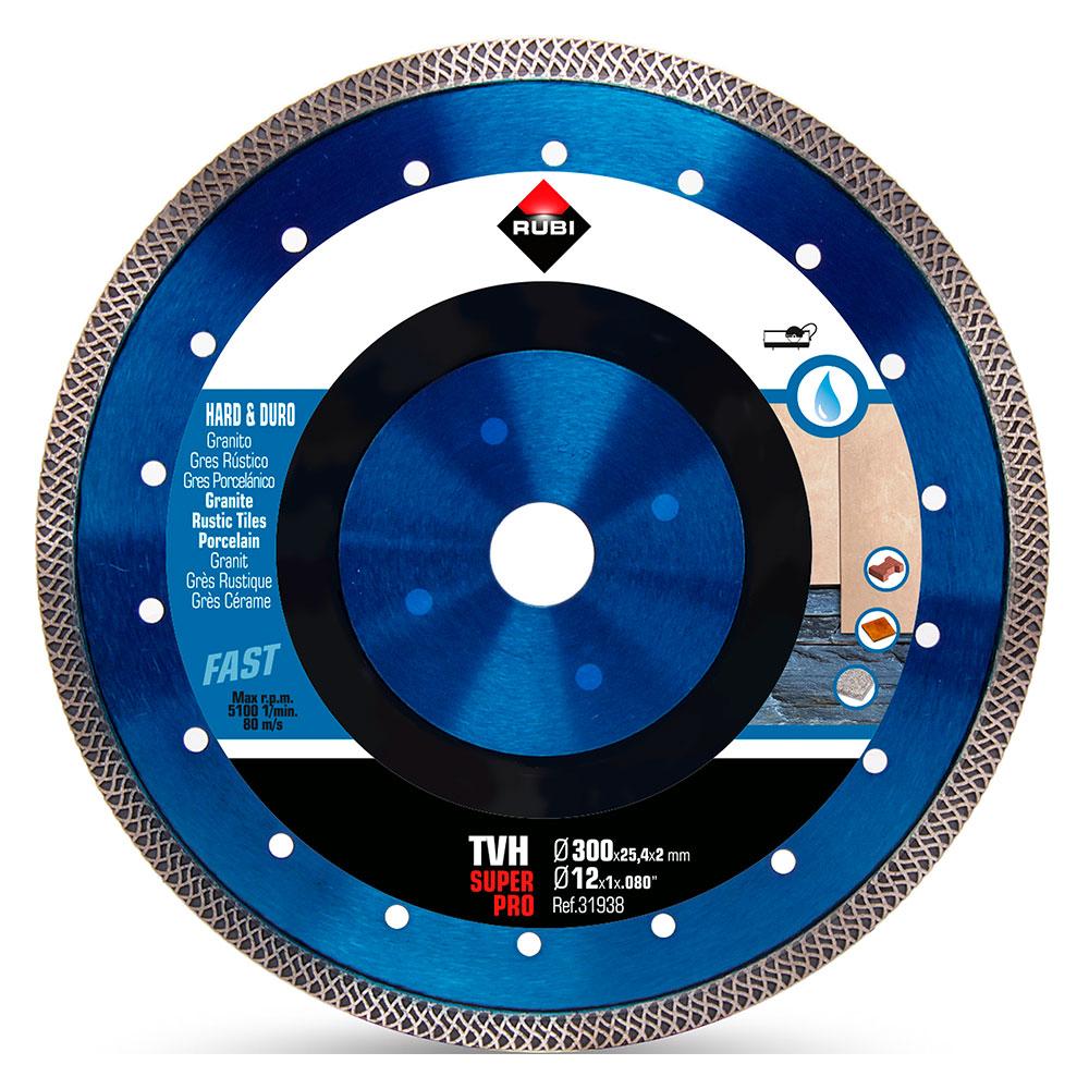 Diamantklinga för hårda material TURBO VIPER TVH-300 SUPERPRO