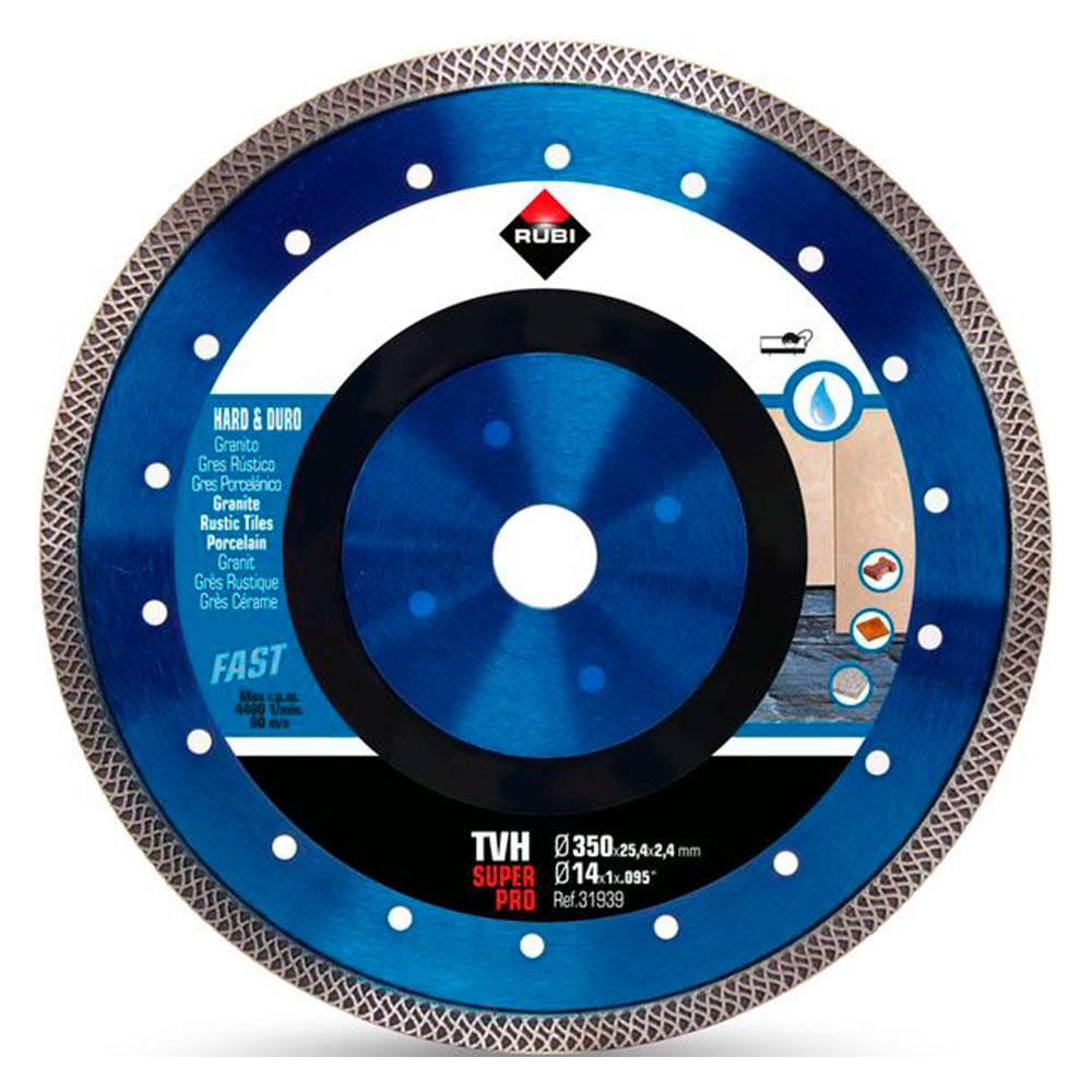 Diamantklinga för hårda material TURBO VIPER TVH-350 SUPERPRO