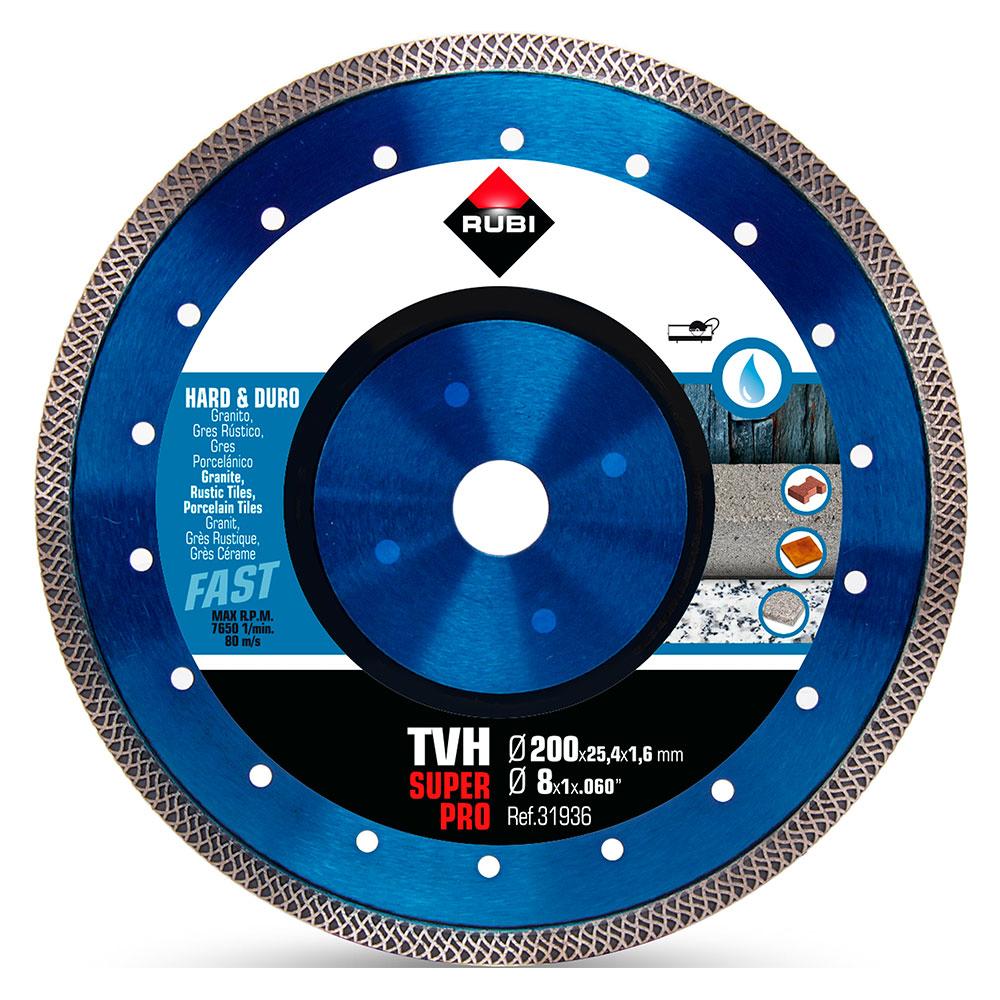 Diamantklinga för hårda materialTURBO VIPER TVH-200 SUPERPRO