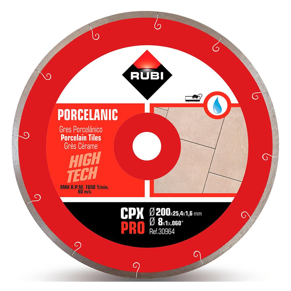 Diamantklinga för porslinsplattor JSLOT CPX-200 PRO