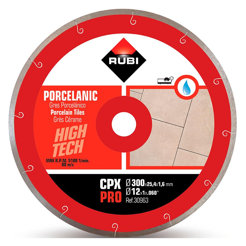 Diamantklinga för porslinsplattor JSLOT CPX-300 PRO