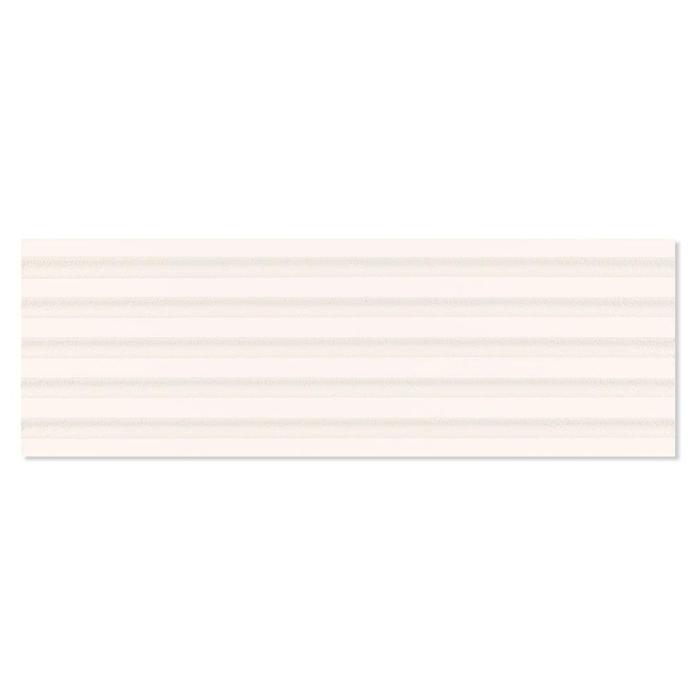 Dekor Kakel Chalk Beige Matt-Relief Mönstrad 1 Rak 40x120 cm