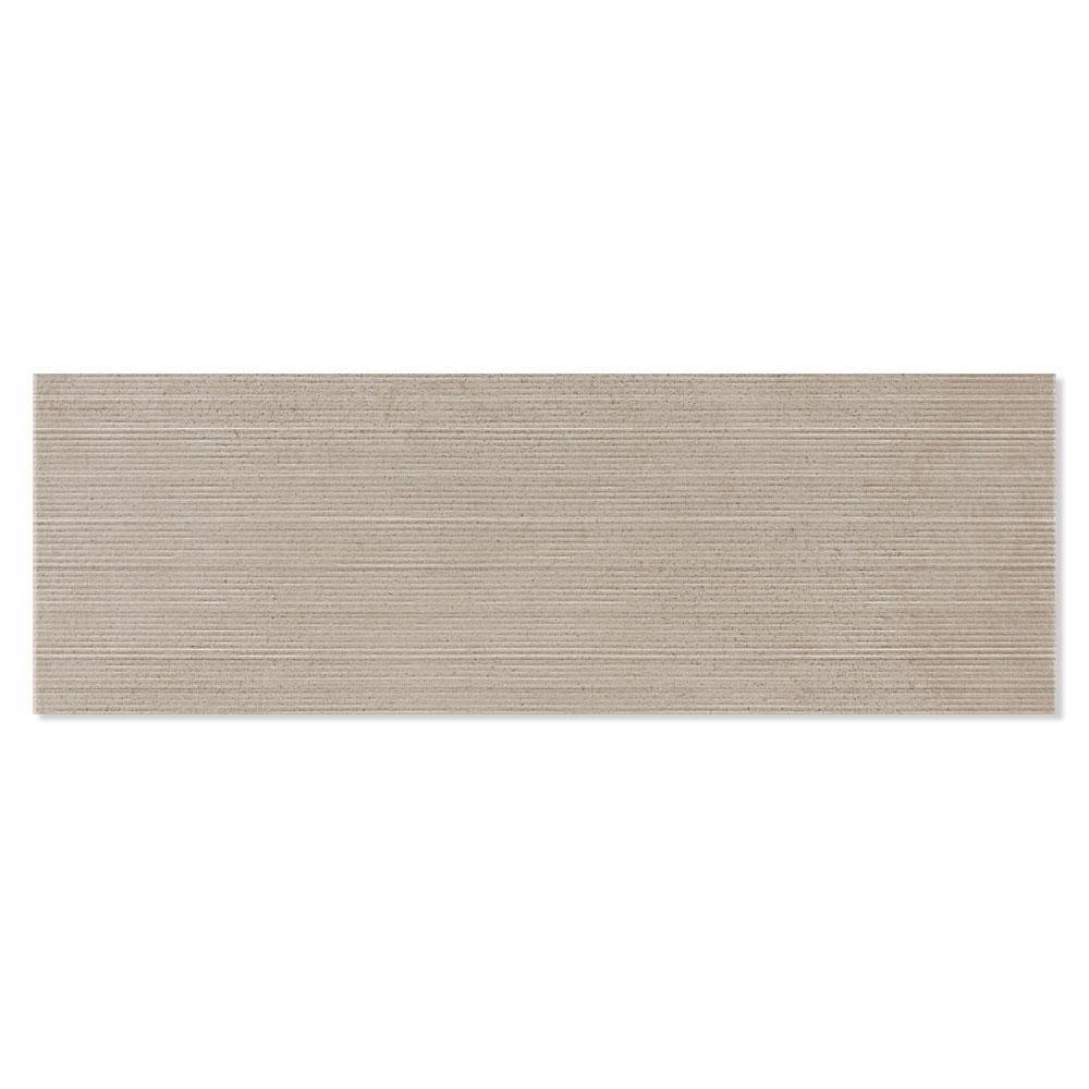 Dekor Kakel Powder Grå-Brun Matt Rak 40x120 cm