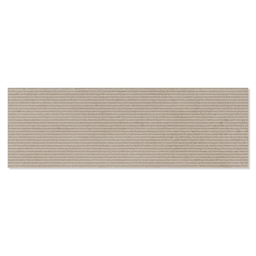 Dekor Kakel Powder Grå-Brun Matt Rund 25x75 cm