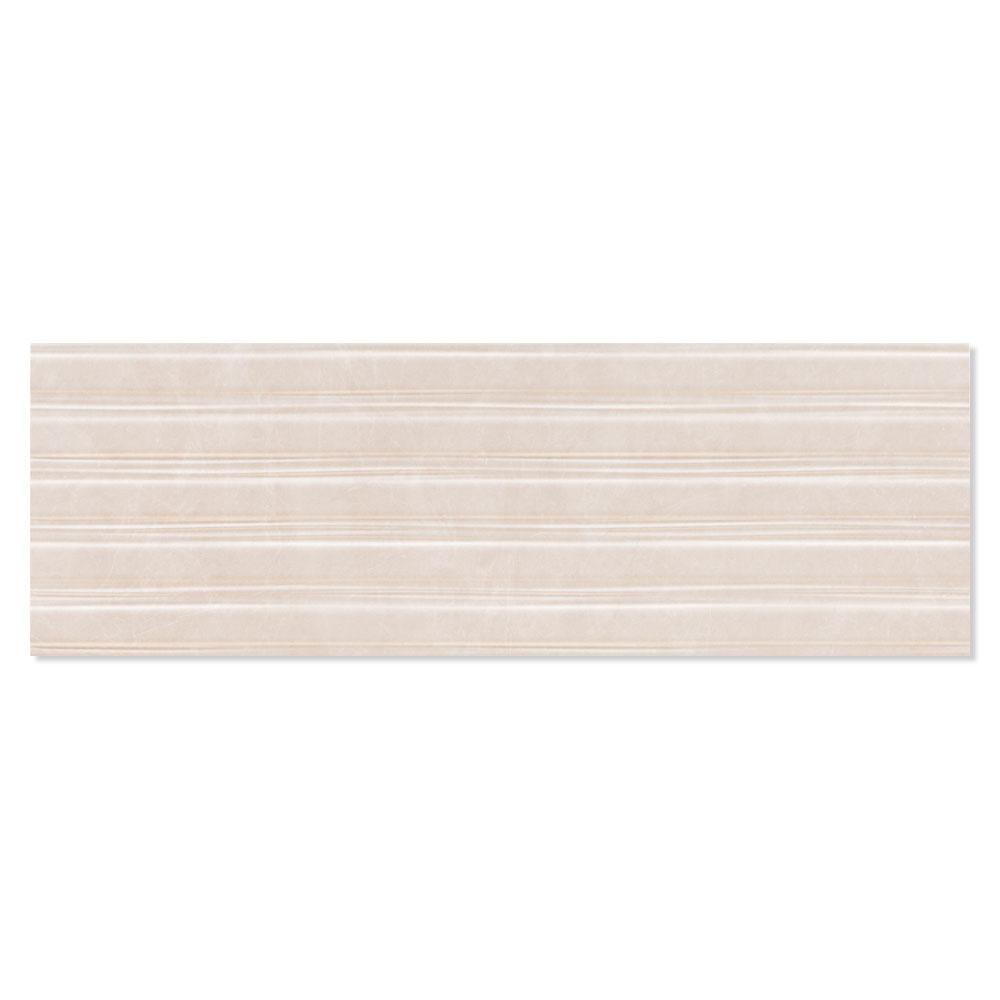 Dekor Marmor Kakel Acra Beige Blank 30x90 cm