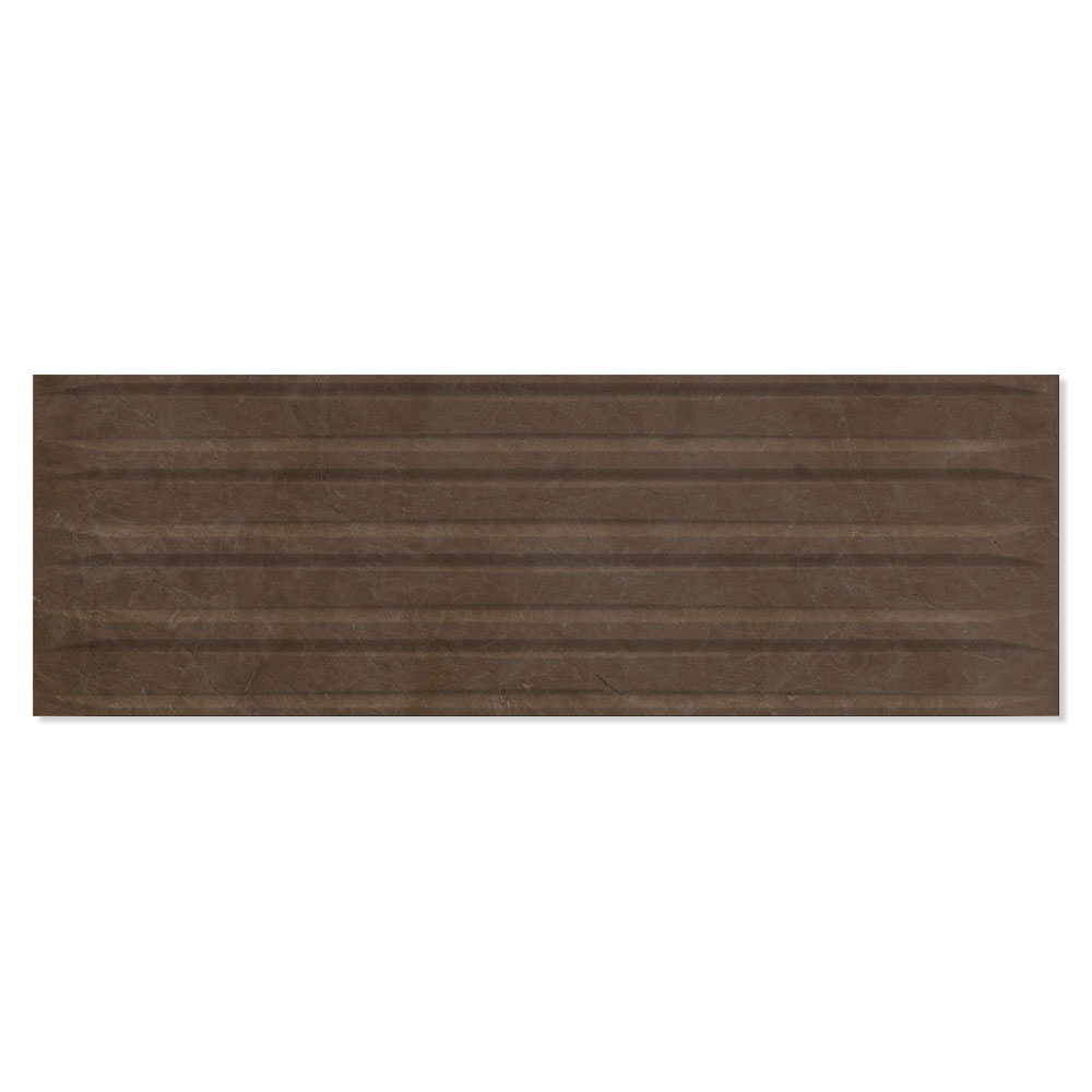 Dekor Marmor Kakel Acra Mörkbrun Blank 20x60 cm