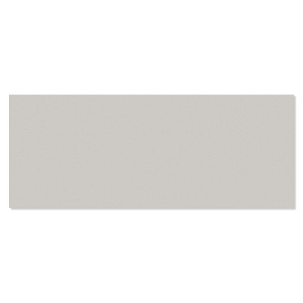 Kakel Batim Ljusgrå Blank Rund 20x50 cm