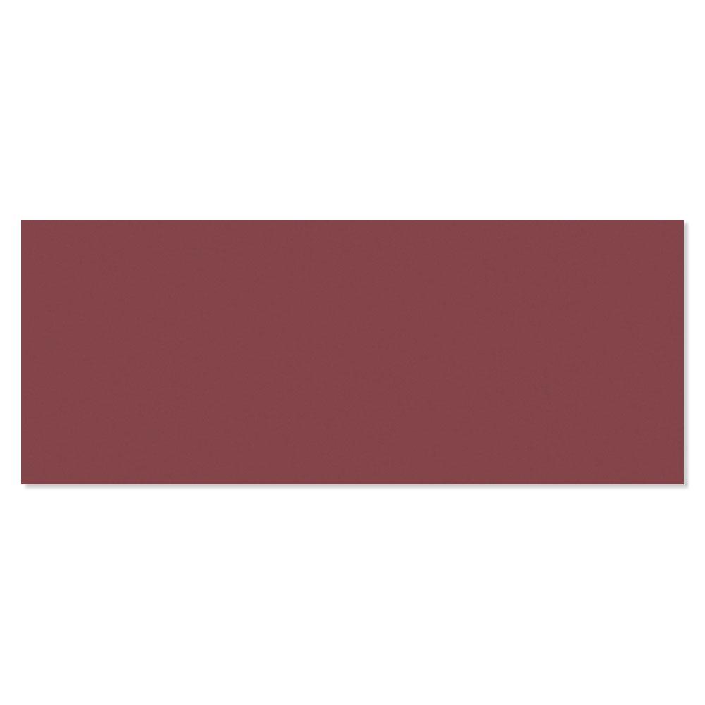 Kakel Batim Röd Blank Rund 20x50 cm