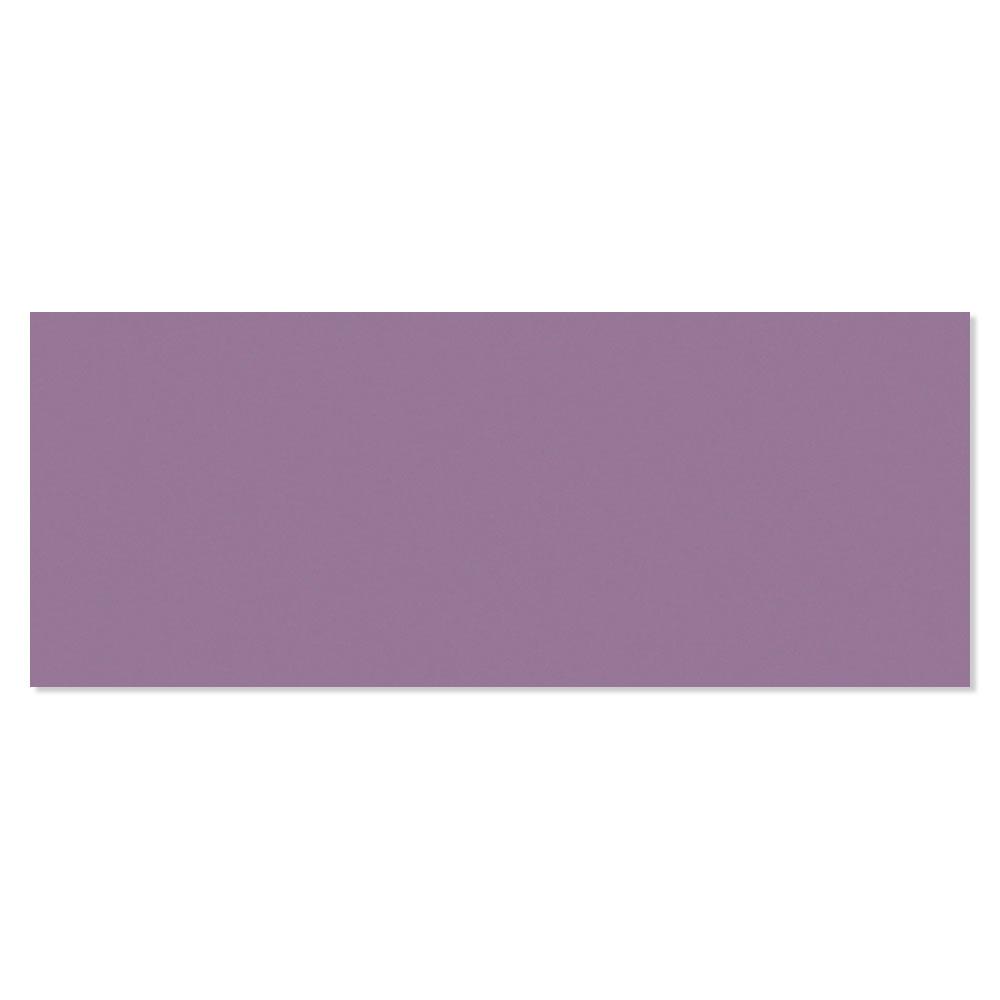 Kakel Batim Violet Blank Rund 20x50 cm