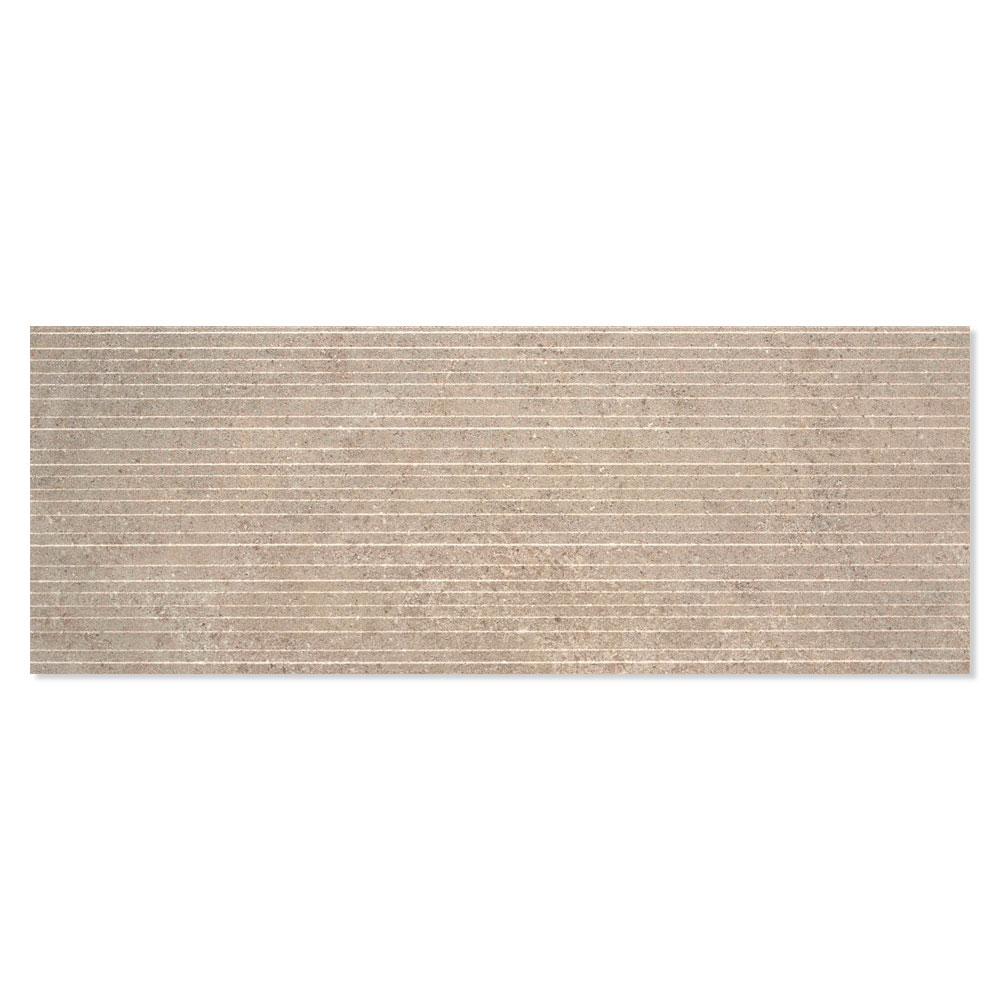 Dekor Lytos Ljusbrun Matt-Relief 33x90 cm