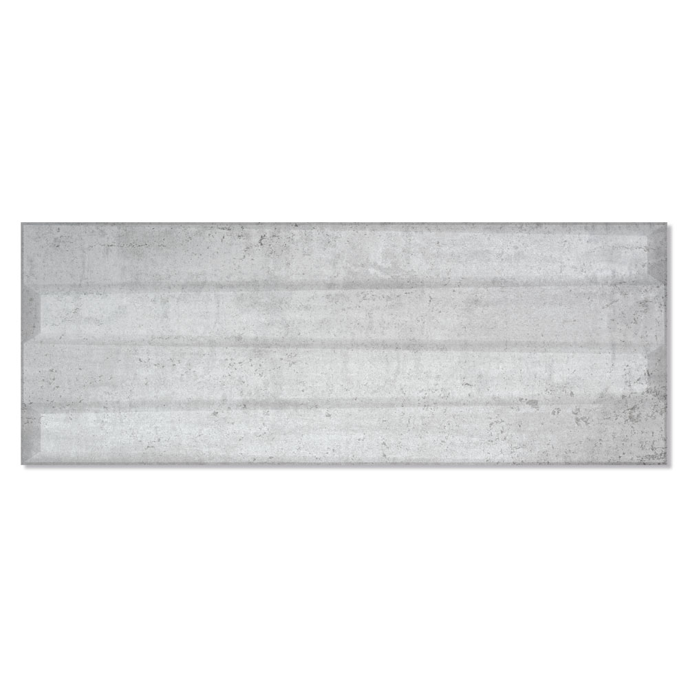 Dekor Metalo Grå Matt 33x90 cm