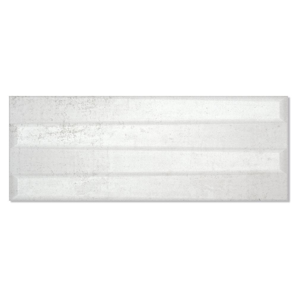 Dekor Metalo Ljusgrå Matt 33x90 cm