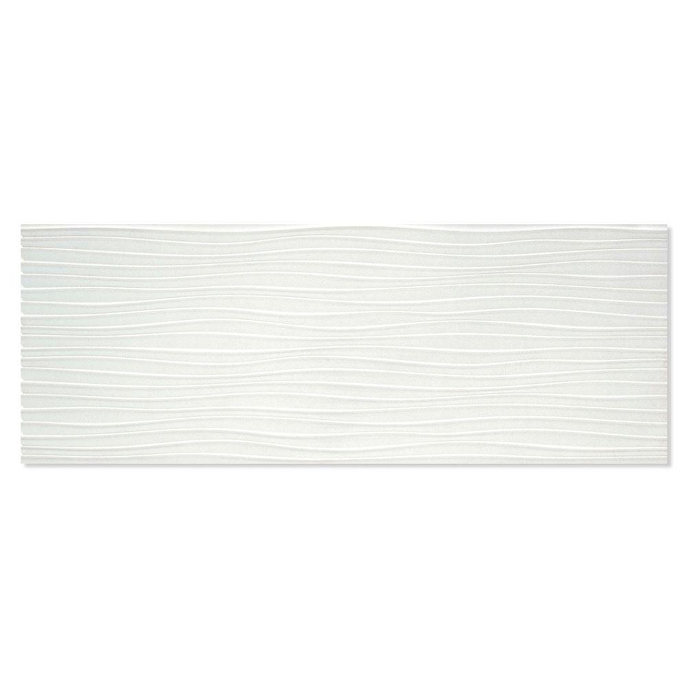 Dekor Kakel Abril Ljusgrå 33x90 cm