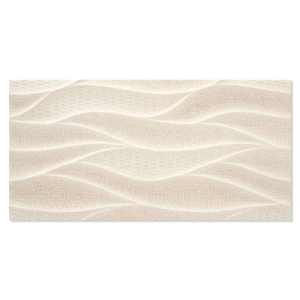 Dekor Kakel Windsor Beige Mönstrad 25x50 cm