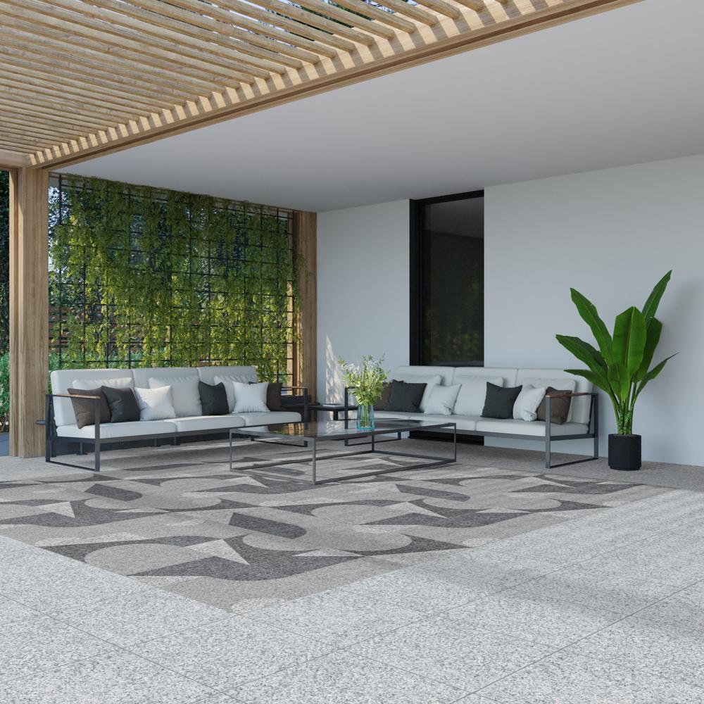 Klinker Granite Vit 50x50 cm