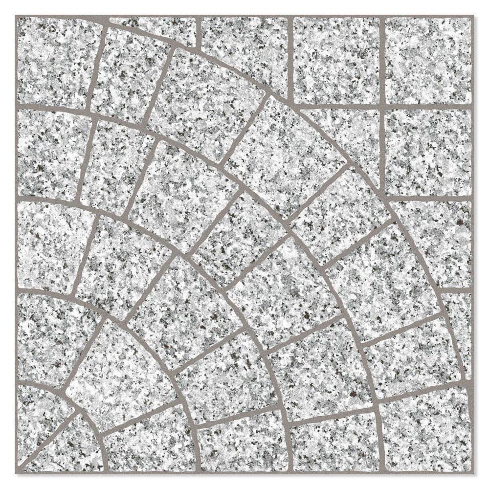 Klinker Granite Vit Mönstrad 50x50 cm