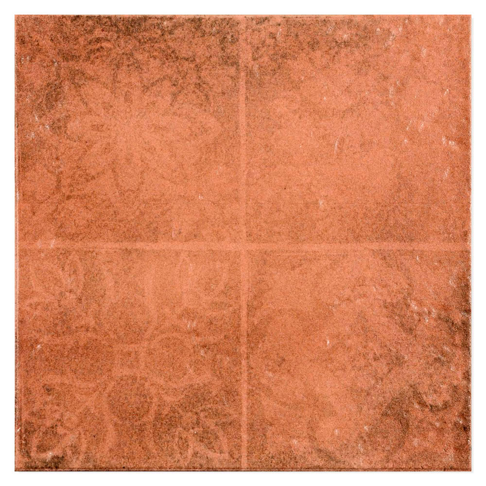 Dekor Klinker Antic Orange Matt 33x33 cm