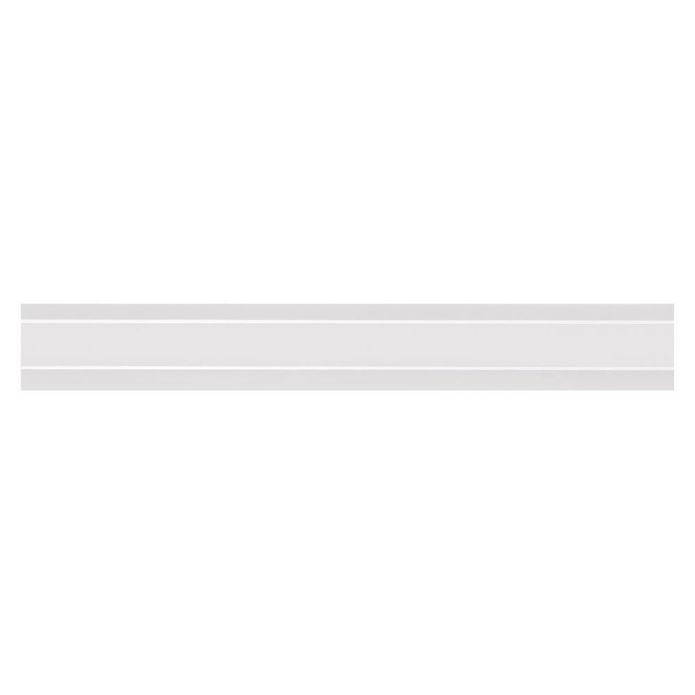 Dekor Kakel New York Vit Blank 2x15 cm