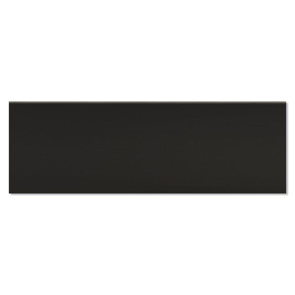 Dekor Kakel New York Svart Blank 5x15 cm