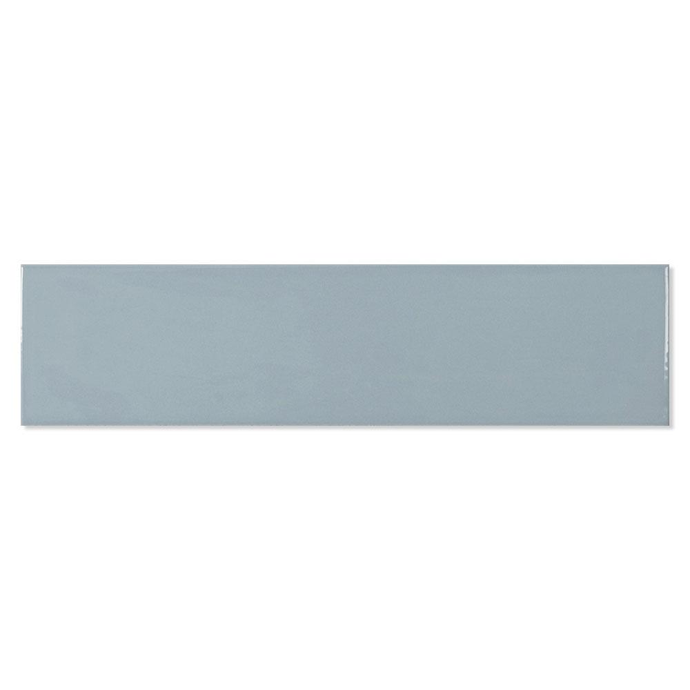 Kakel Alborán Oceano Blå Blank 8x30 cm