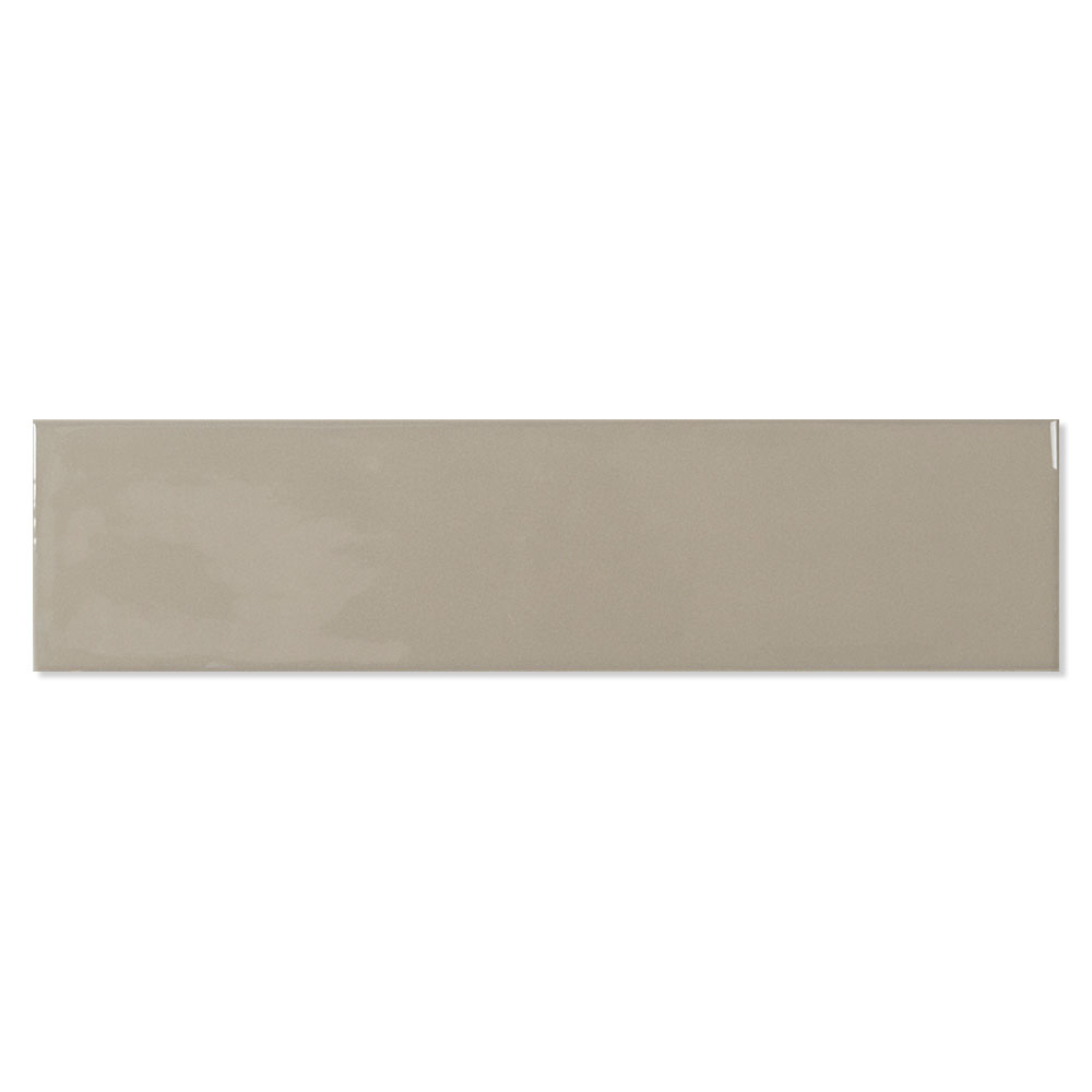 Kakel Alborán Mocca Beige Blank 8x30 cm