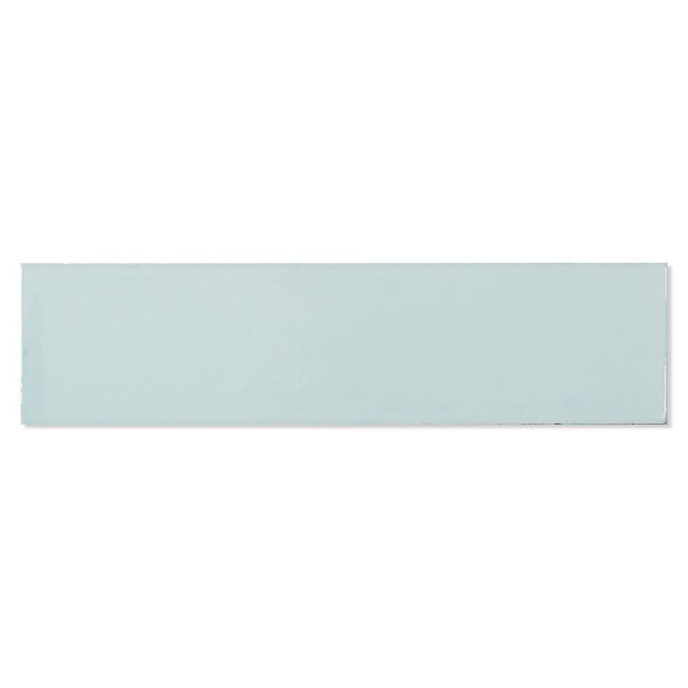 Kakel Alborán Aqua Blå Blank 8x30 cm