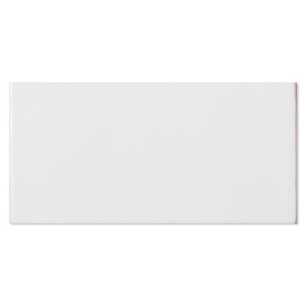 Kakel Alborán Vit Blank 8x15 cm
