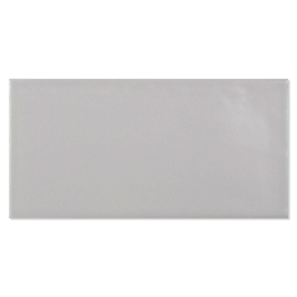 Kakel Alborán Grå Blank 8x15 cm