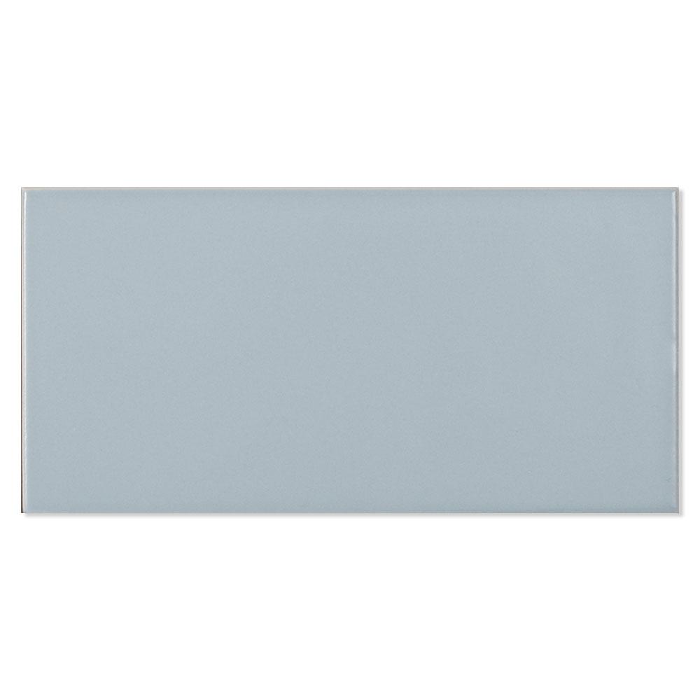Kakel Alborán Oceano Blå Blank 8x15 cm
