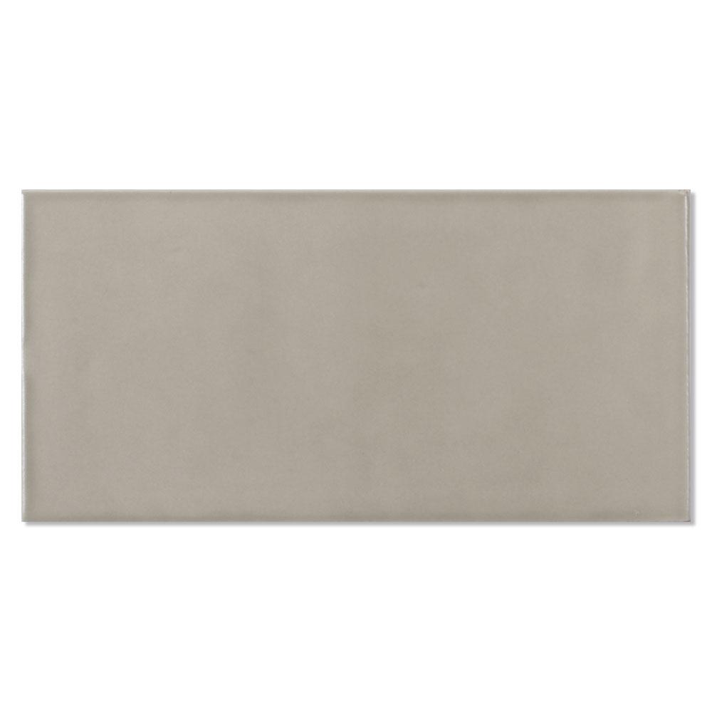 Kakel Alborán Mocca Beige Blank 8x15 cm