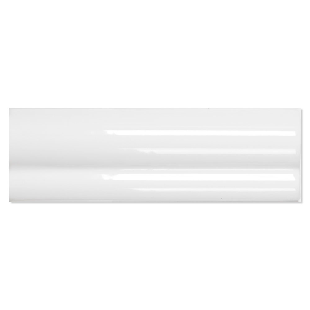 Dekor Kakel Alborán Vit Blank 5x15 cm