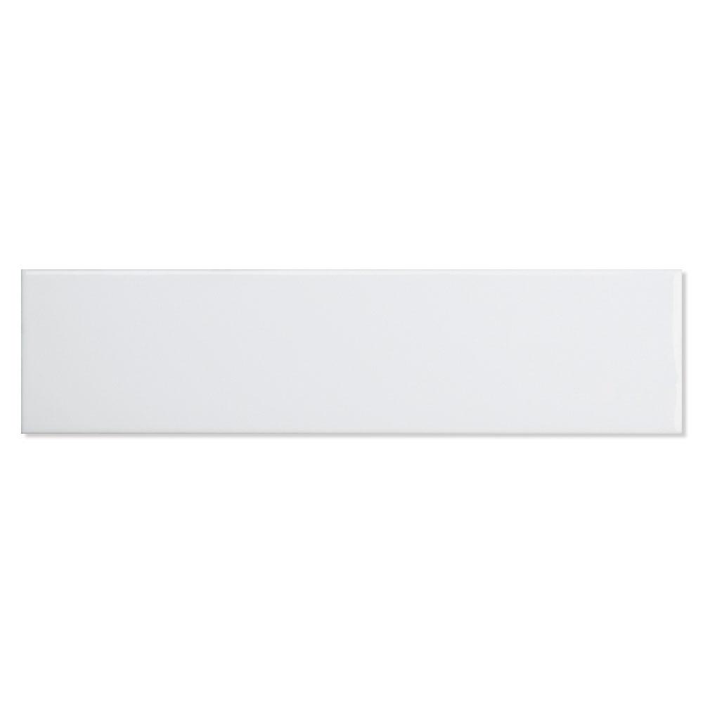 Kakel Beaune Vit Blank 8x30 cm