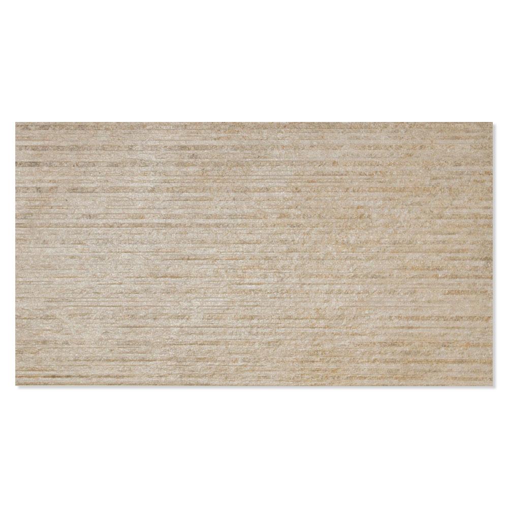 Dekor Kakel Kiev Beige Matt-Satin 31x56 cm