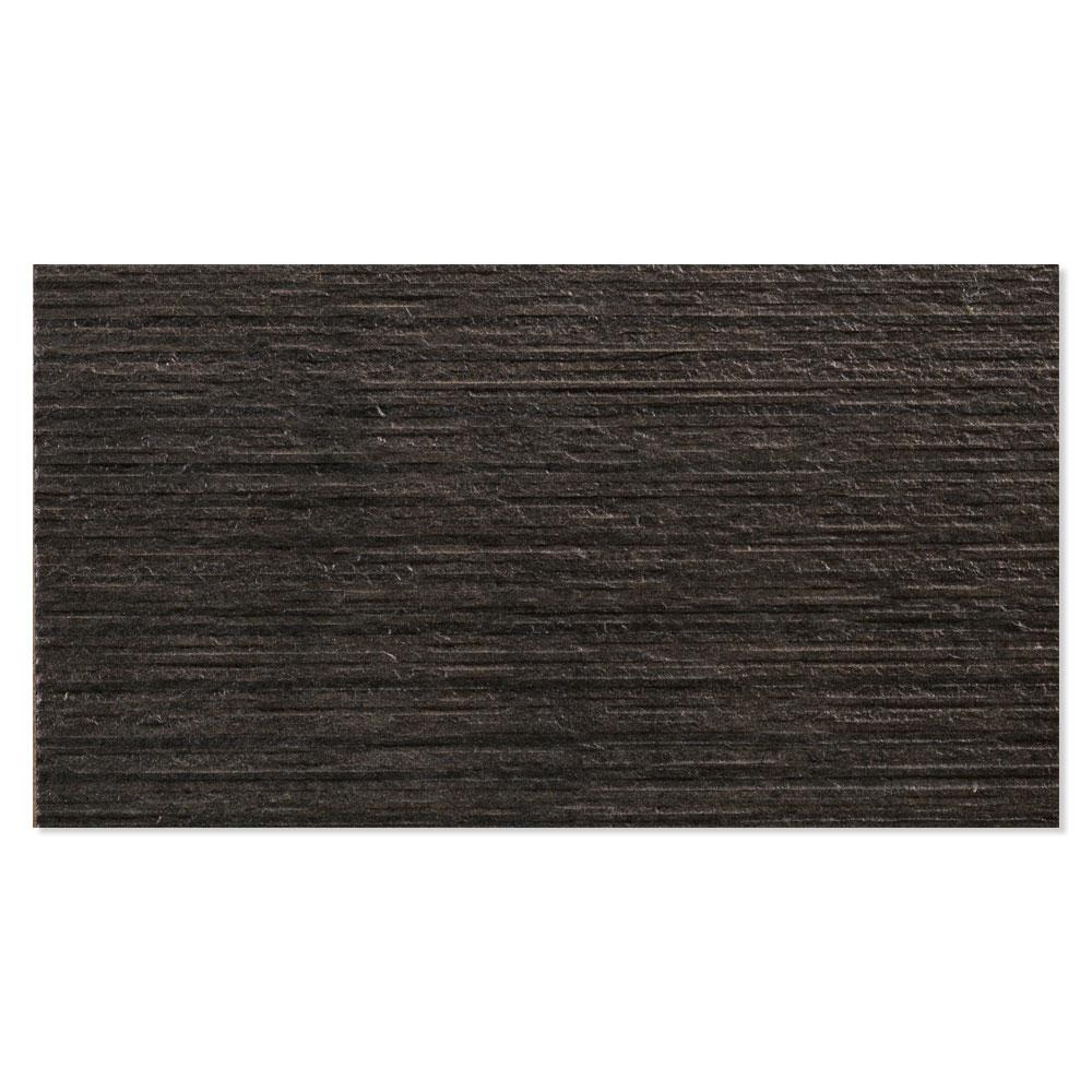 Dekor Kakel Kiev Svart Matt-Satin 31x56 cm