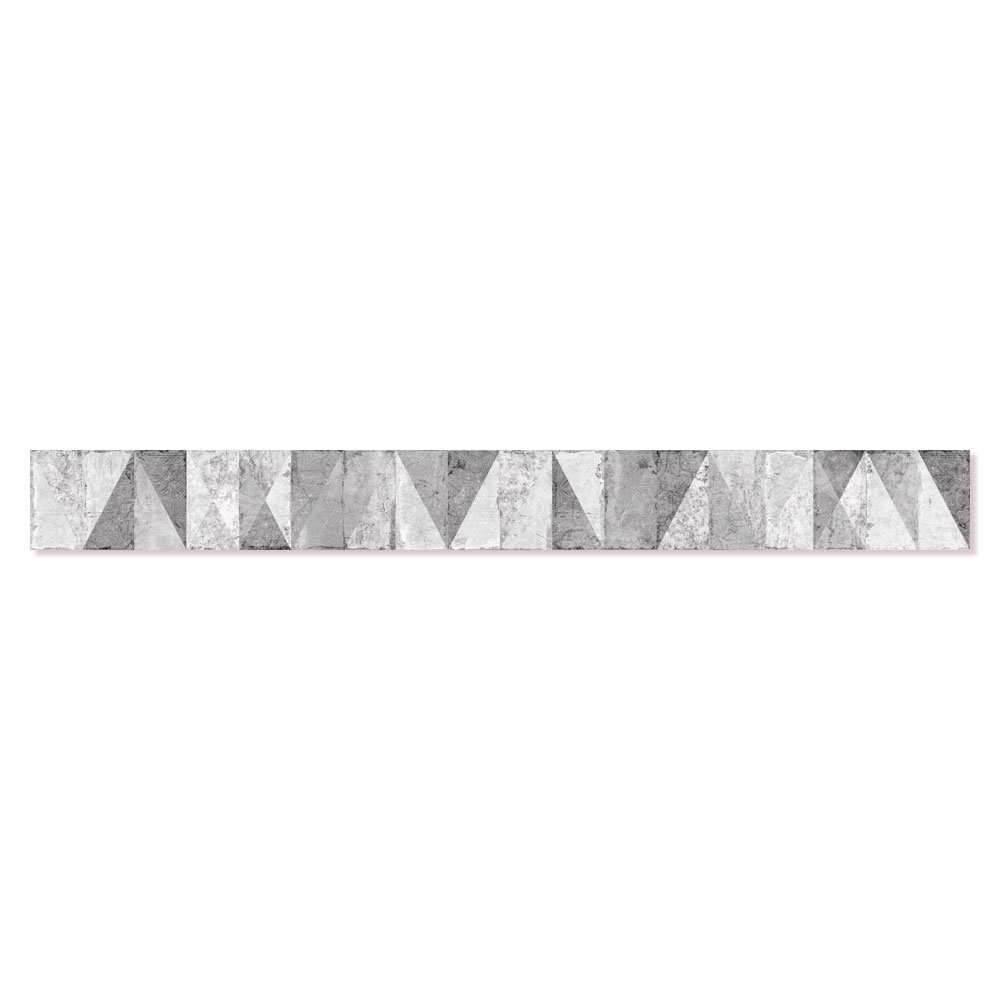 Dekor Kakel Wilthen Ljusgrå Matt 8x75 cm