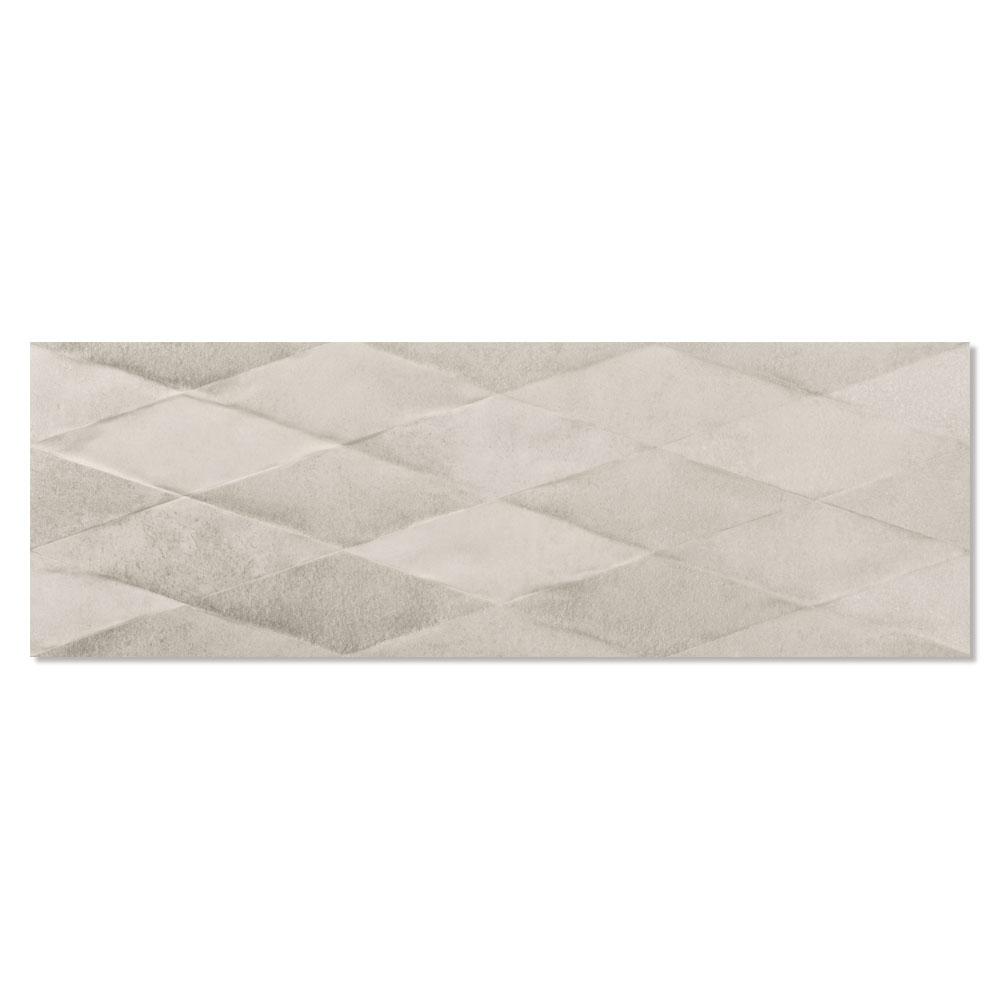 Dekor Kakel Cornwall Beige Matt-Relief 30x90 cm